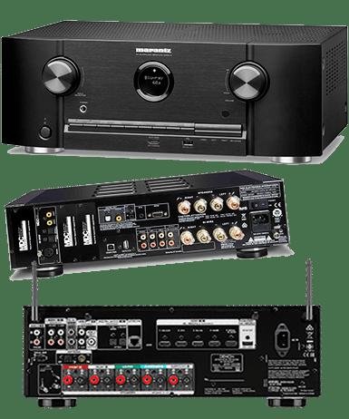 ремонт аудио ресиверов
