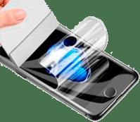 обтяжка гидрогелевой пленкой, бронирование телефона