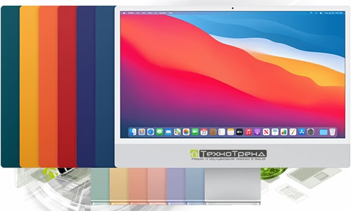 ремонт моноблоков Apple iMac (чип M1, 24