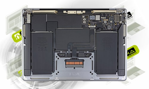 ремонт ноутбуков Apple MacBook Air 13″ M1 A2337 (2020) в Омске