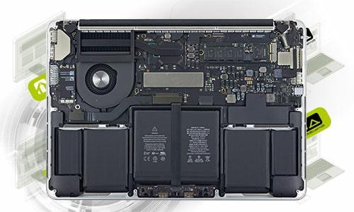 ремонт ноутбуков Apple MacBook Pro 13″ A1502 (2015) в Омске