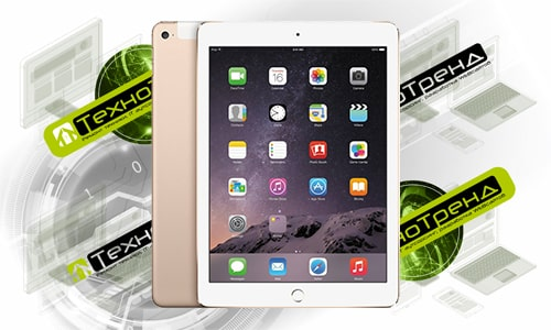ремонт планшетов Apple iPad Air 2 в Омске