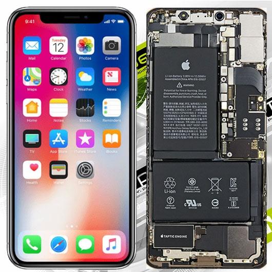 ремонт iPhone X в Омске
